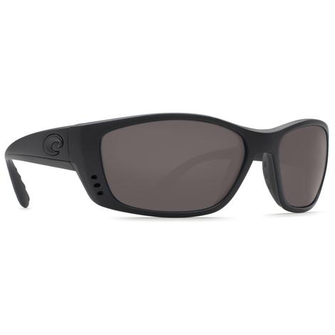 COSTA Fisch Blackout Dark Grey Sunglasses
