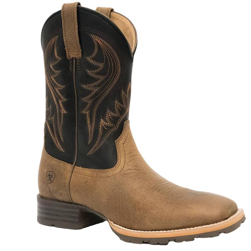 Ariat Mens Hybrid Rancher Earth Tone Brown Boots