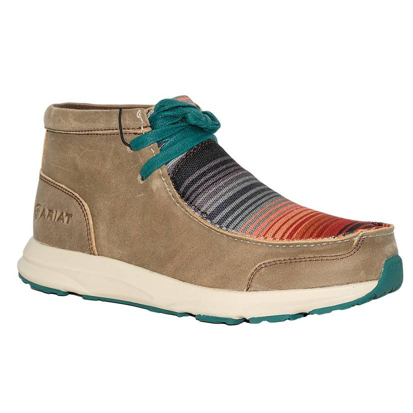 Ariat Womens Serape Brown Spitfire Casual Shoe