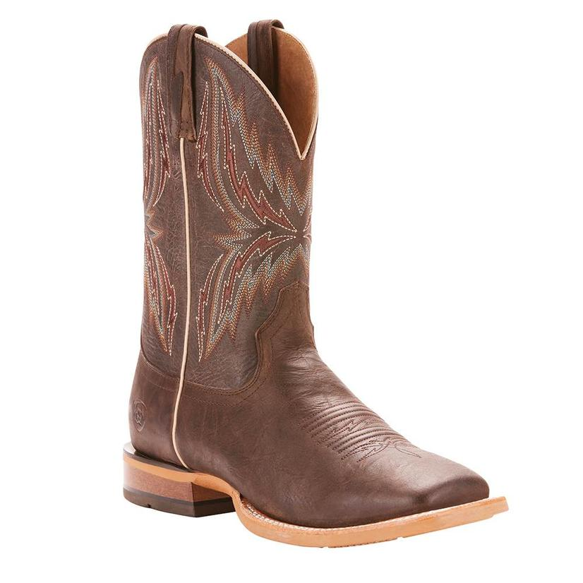 Ariat Womens Arena Rebound Branding Iron Brangus Boots