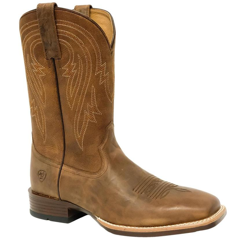 Ariat Plano Tannin Tack Room Men's Brown Boots