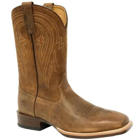 Ariat Mens Plano Tannin Tack Room Brown Boots