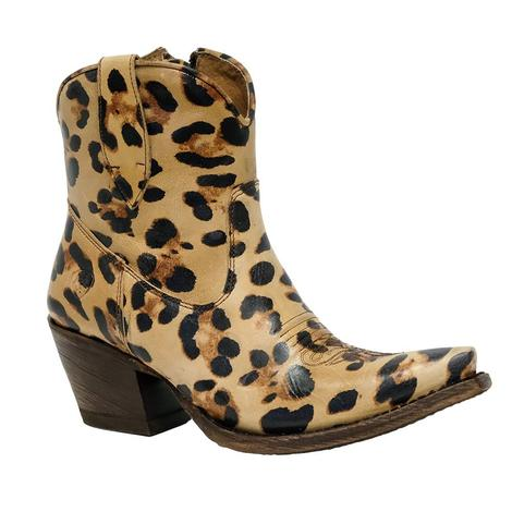 Ariat Womens Circuit Cruz Leopard Shortie Boot