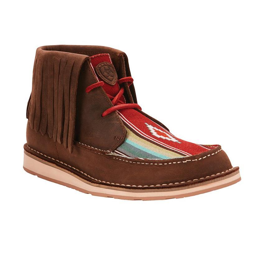 Ariat Womens Cruise Fringe Indian Saddle Blanket Shoe