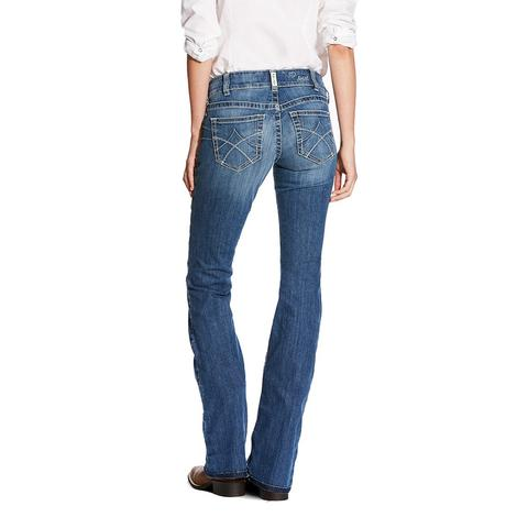 Ariat Womens R.E.A.L. Boot Cut Jasmine Jeans