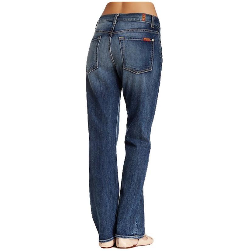 7 For All Mankind 1984 High Waist Boyfriend Medium Wash Jean