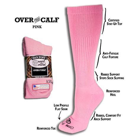 Dan Post Over The Calf Boot Socks
