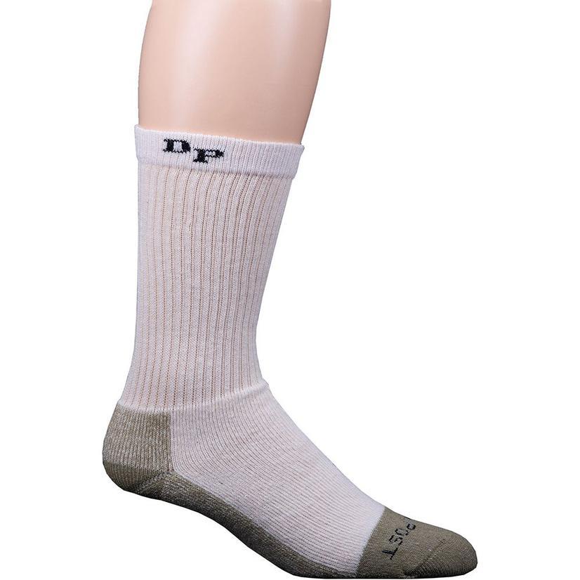 Dan Post Mid Calf Med Weight Steel Toe Work Socks