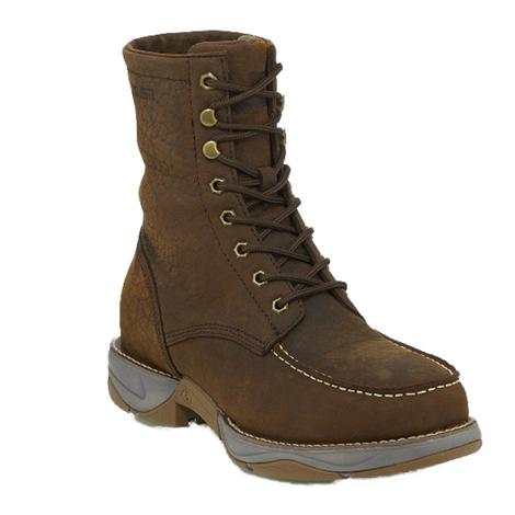 Tony Lama Mens Sierra Badlands Lace Up Steel Toe Boots