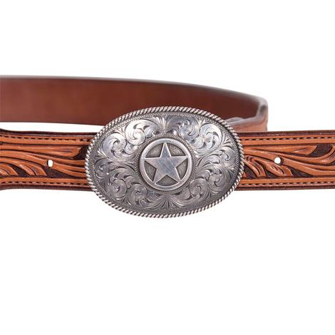 Clint Orms Mens Hunt Western Buckle