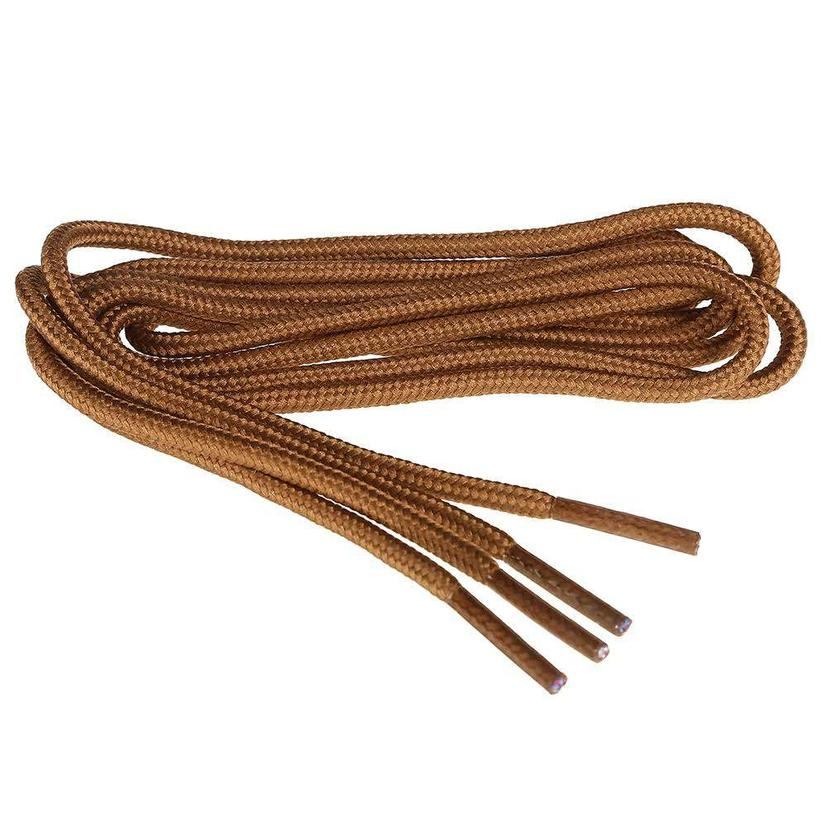 Twisted X Brown Shoe Laces