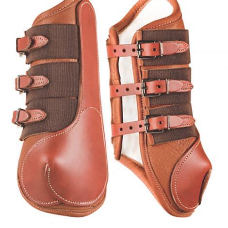 Cactus Gear Leather Wrap Around Splint Boots