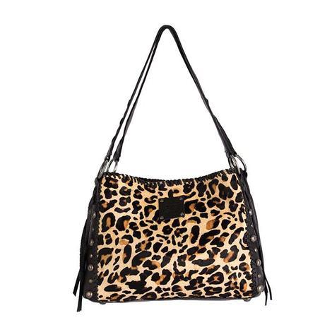 STS Ranchwear Maggie Mae Leopard Print Handbag