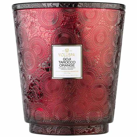 Voluspa Goji Tarocco Orange 5 Wick Candle 123 oz