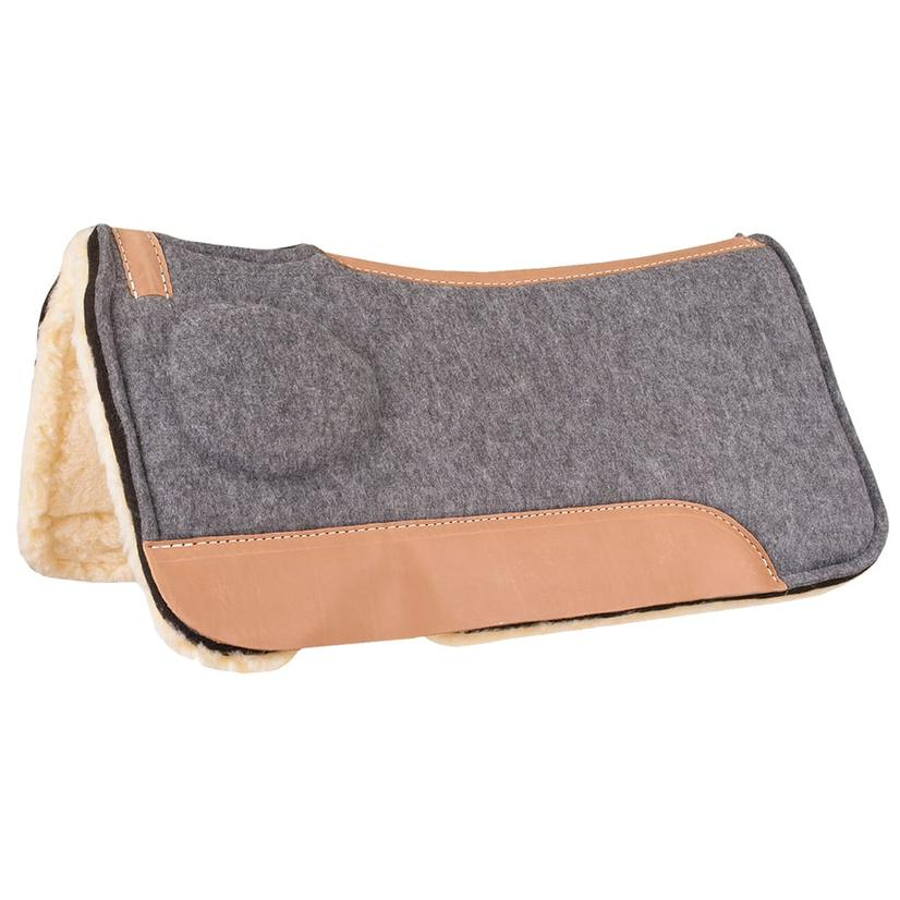 Mustang Correct- Fit Saddle Pad W/Fleece Lining