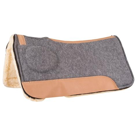 Mustang Correct-Fit Saddle Pad w/Fleece Lining