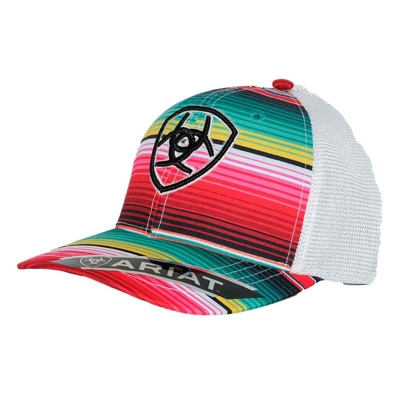 a6e02cbd344 ... new zealand ariat womens serape print ball cap 26319 46efa