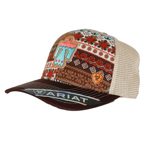 Ariat Thunderbird Tan Mesh Back Cap