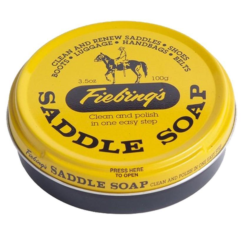 Fiebing Yellow Saddle Soap 12oz