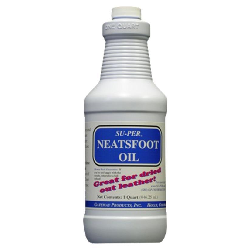 Su- Per Ultra Prime Neatsfoot Oil 32oz