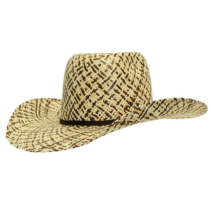 Twister Double Tone Youth Straw Hat