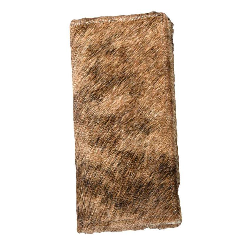 Brown Brindle Cowhide Wallet