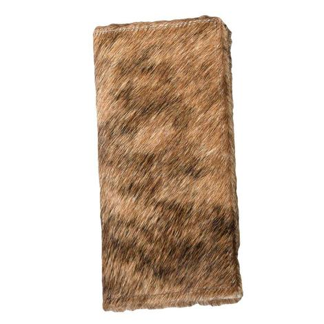 Brown Brindle Cowhide Wallet
