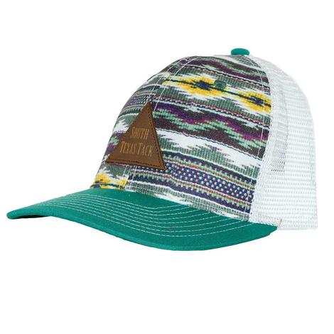 STT Blanket Green and White Mesh Back Cap