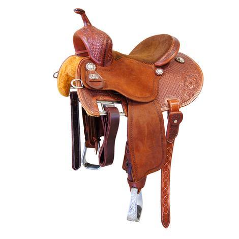 Martin Saddlery FX3 Barrel Saddle