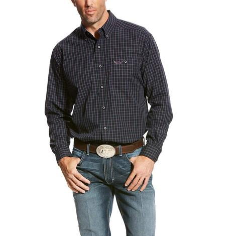 Ariat Mens Relentless Stealth Black Long Sleeve Shirt