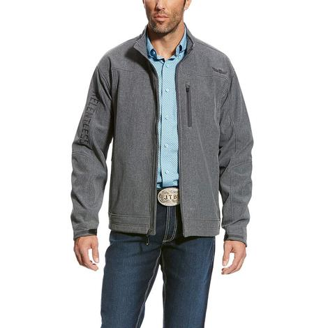 Ariat Men's Relentless Willpower Grey Softshell Jacket