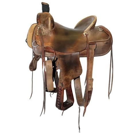 Teskey's 16in Ranch Cutter Used Saddle