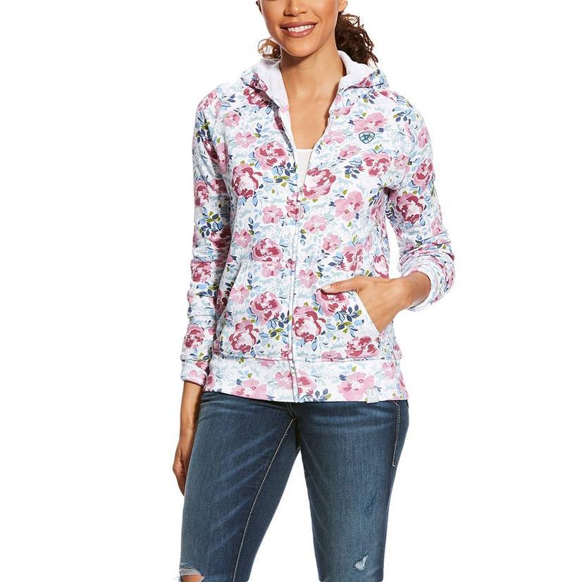 Ariat Frolic Floral Women's Zip Hoodie