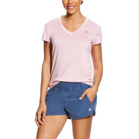 Ariat Pink Laguna Short Sleeve Women's Top