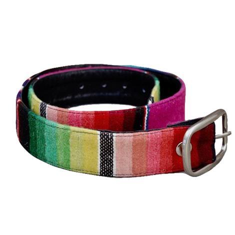 Totem Vintage Serape Belt w/Buckle