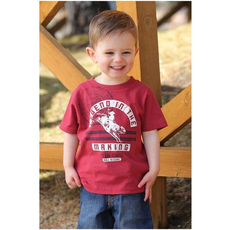 Cinch Red Legend In the Making Tee - Toddler