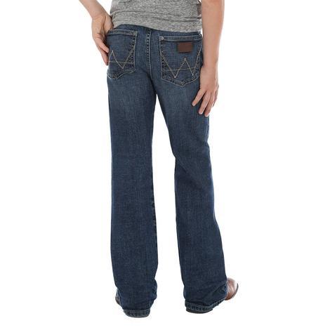 Wrangler Retro Relaxed Boy's Boot Jean