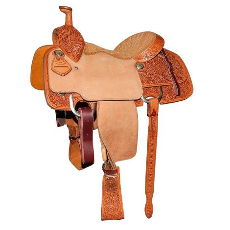 STT Team Roper Halfbreed Light Oil Saddle