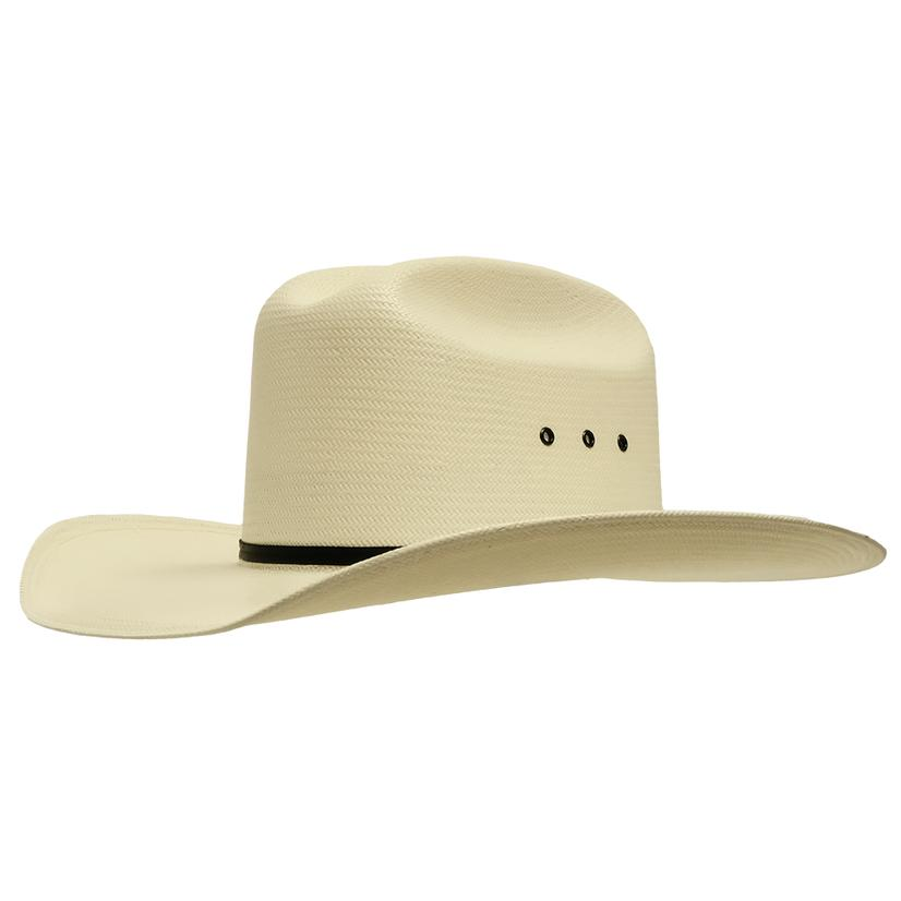 Resistol All Around Acs With Eyelets 4in Brim Natural Straw
