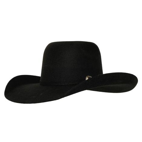 Resistol Pay Window Jr Felt Cowboy Hat