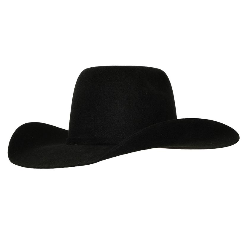Ariat Kids Bull Rider Black Wool Hat