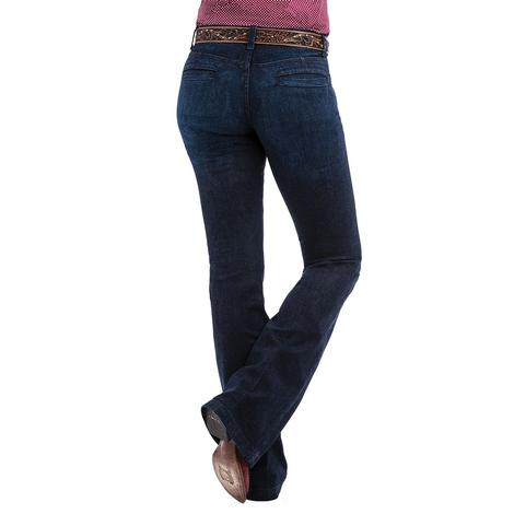 Cinch Womens Lynden Moderate Rise Slim Trouser Jean