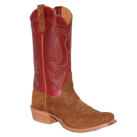 STT Mens Rios of Mercedes Carpincho Rust Red Fools Goat Boot