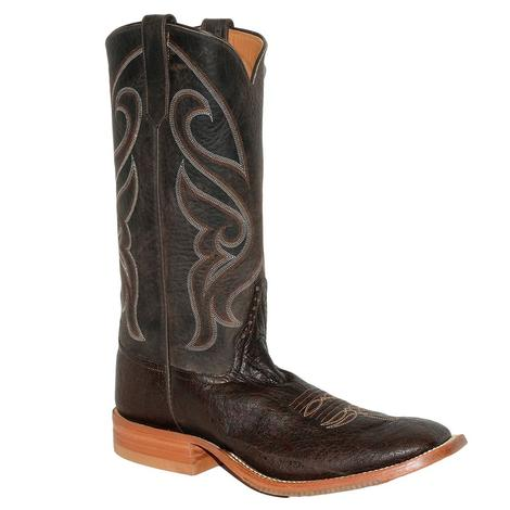 STT Mens Rios of Mercedes Chocolate Elephant Black Bison Boots
