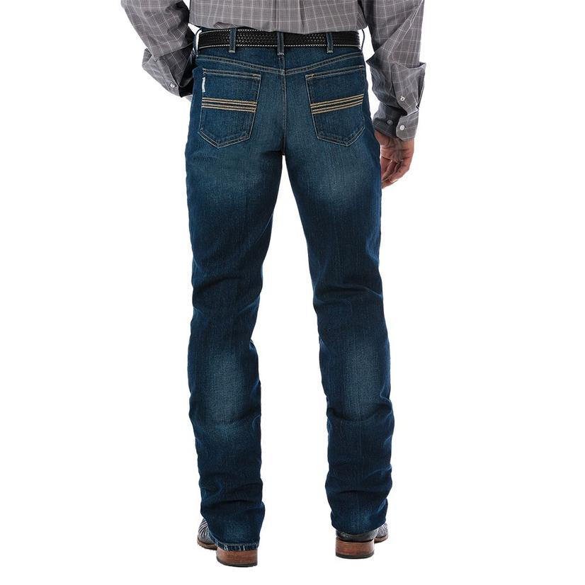 Cinch Mens Dark Stonewash Silver Label Jeans