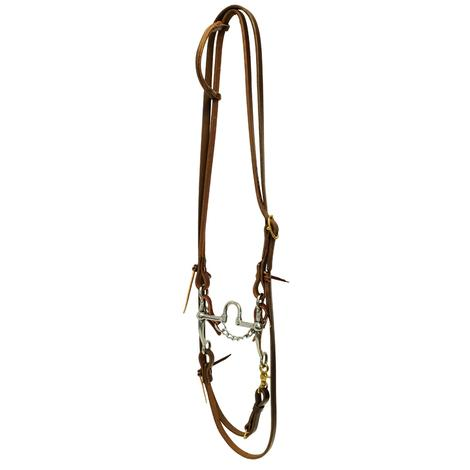 STT Roping Bridle Set with Correction Bit