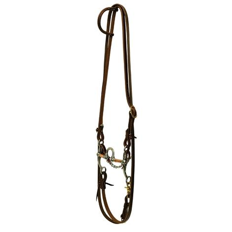 STT ROPING BRIDLE SET W/ CORRECTION BIT