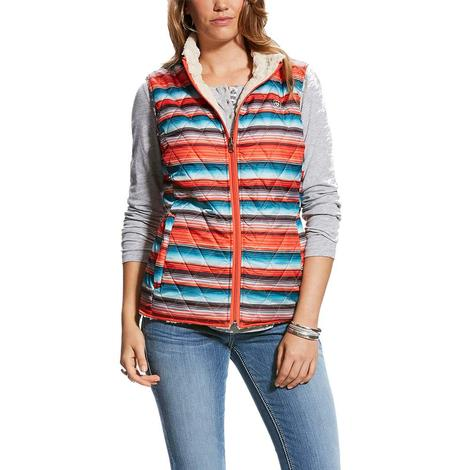 Ariat Women's Hallstatt Reversible Vest with Serape Print