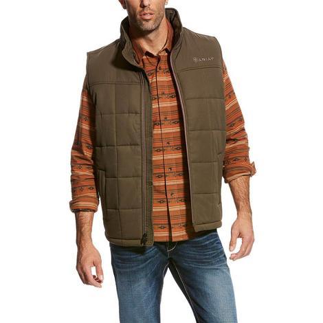 Ariat Mens Crius Walnut Concealed Carry Vest