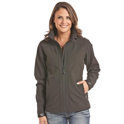 Panhandle Slim Women's Black Softshell Jacket
